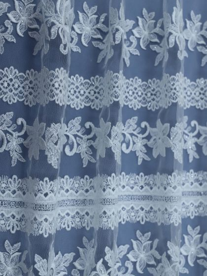 Sequinned Embroidery Lace-127cm/50