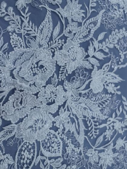 Sequinned Embroidery Lace-140cm/55