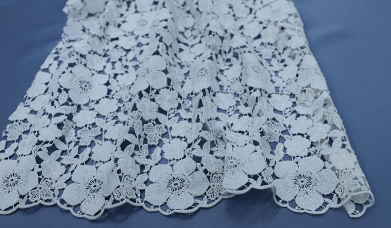 Bring Out Your Flower Power With Our Stunning Bridal Lace Fabrics!